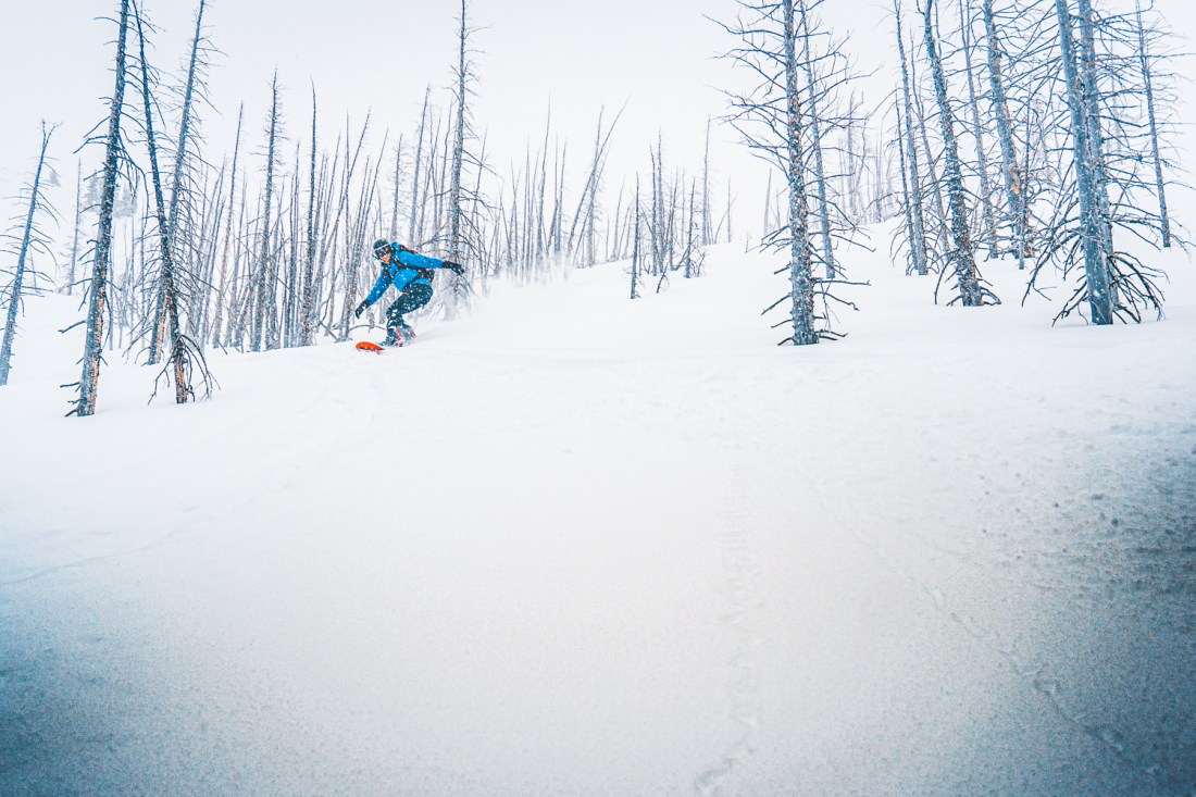 the Mid Season Canadian Rockies Weather can bring perfect snow, but hidden dangers often lurk in the lower snowpack.