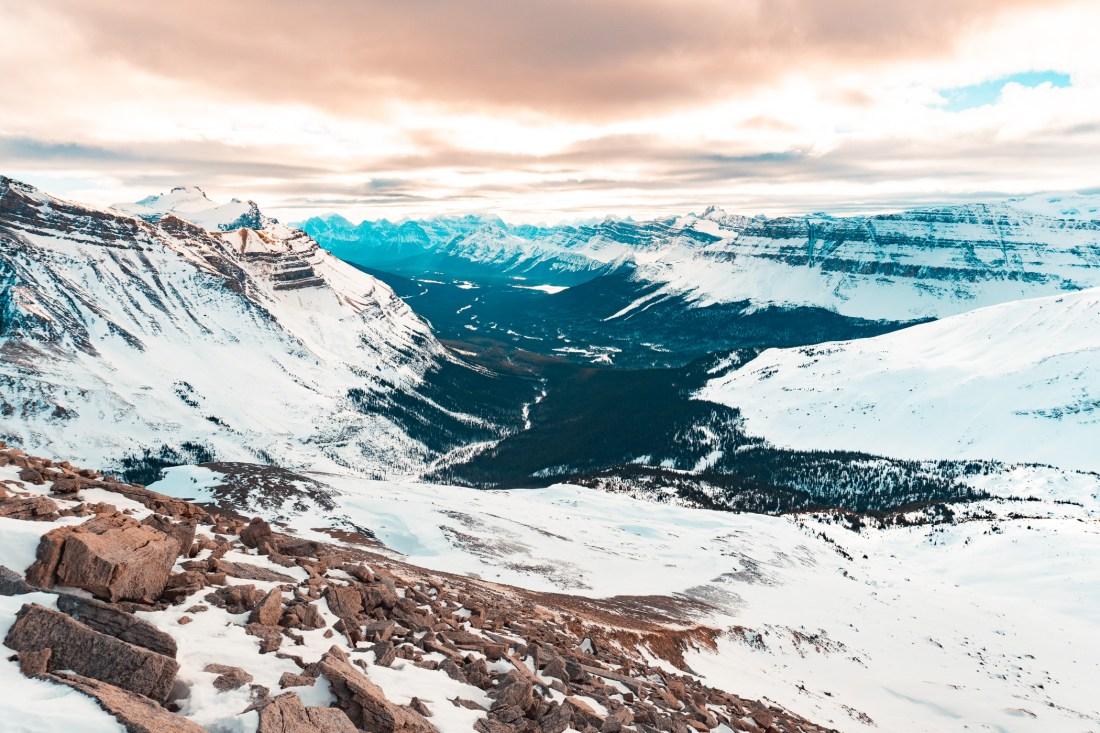 OXO Puzzle Peak Icefields Parkway Ski Tour