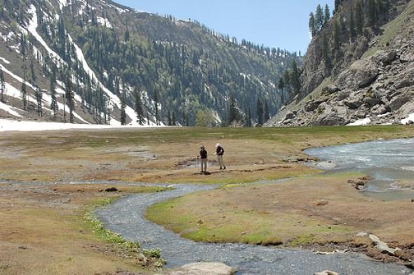 Day hikes in pahalgam
