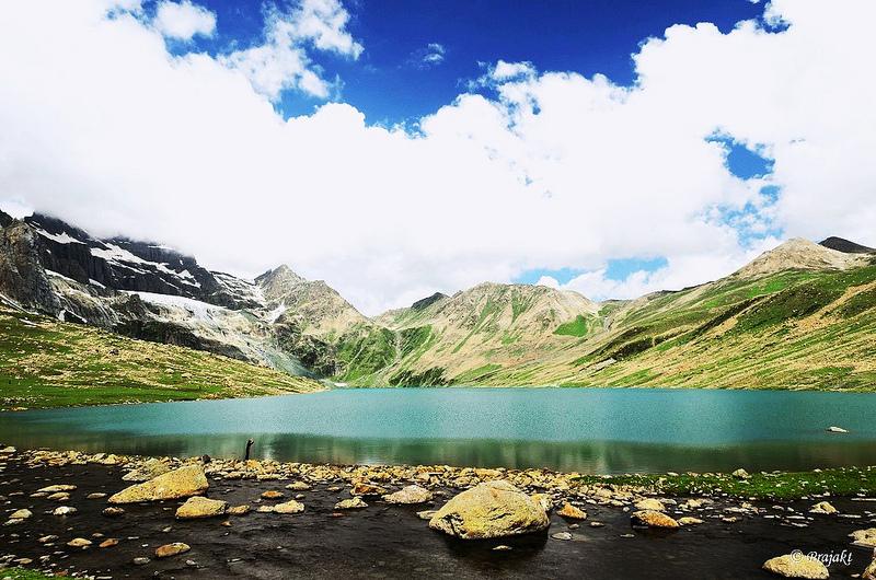 Kashmir Gangabal Lake