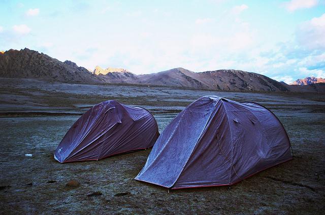 Kashmir mountain trekking