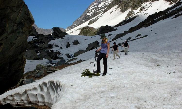 Pahalgam to Kolahoi glacier trek