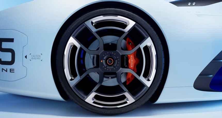 Un concept-car préfigurant la «Berlinette» présenté aux 24 Heures du Mans