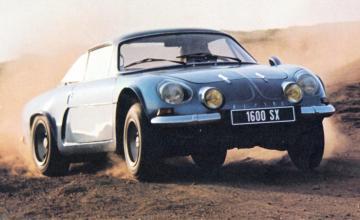 Alpine A110 Berlinette 1600 sx 2