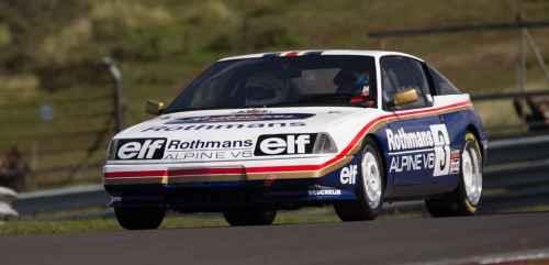 Alpine GTA V6 Turbo Europa Cup: la dernière Alpine Compétition – Client