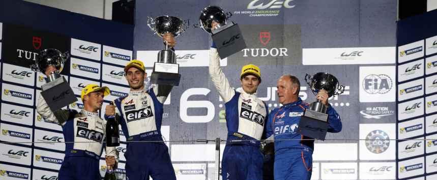 Alpine-Signatech: Sur la première marche du podium !