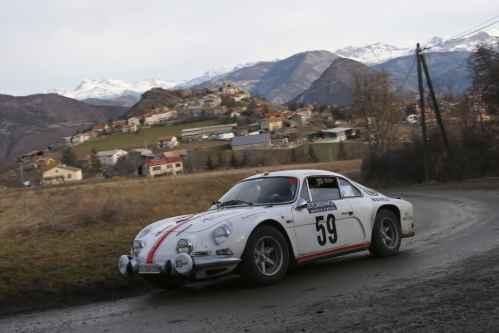 Rallye Historique de Monte-Carlo 2016: la Berlinette au sommet !