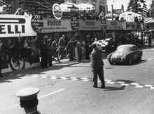 Alpine A106 de Jean REDELE Mille Miles 1955