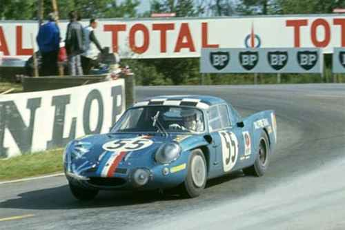 Alpine A210 aux 24 Heures du Mans 1966