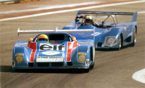 Livre des AAA: Alpine et le Championnat d'Europe 1974