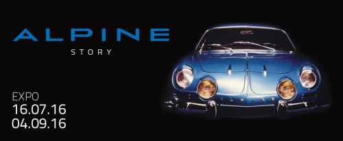 Autoworld 2016: Alpine Story