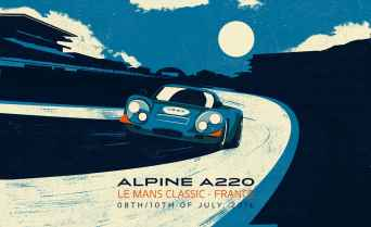 Alpine Cars Posters - 1