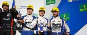 Alpine monte sur le podium à Fuji !