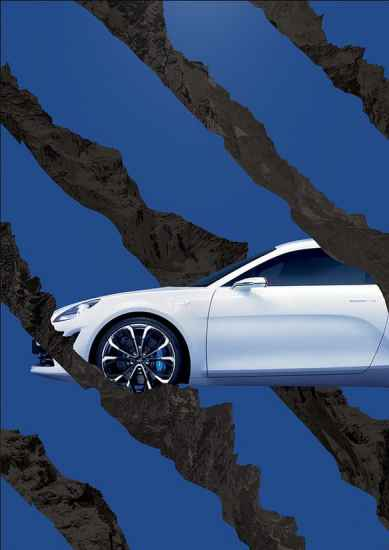 Alpine A120 AS1 affiche salon FIAC Paris - 13