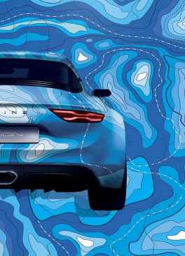 Alpine A120 AS1 affiche salon FIAC Paris - 5