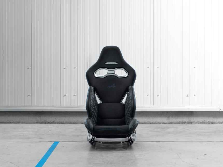 Alpine dévoile un siège baquet poids plume de 13,1 kg