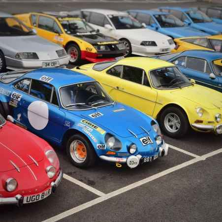 alpine A110 A610 A310 GTA RAOC UK ASAN 2017 - 33
