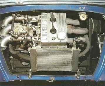 alpine A110 groupe 5 moteur 3