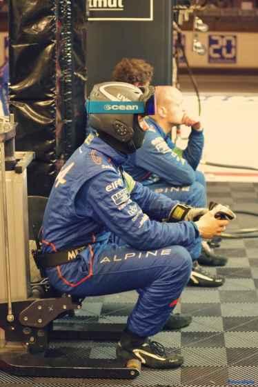 Alpine Planet WEC 24 Heures du Mans 2017 Signatech Alpine Ragues Panciatici Rao Negrao Dumas Menezes coulisses - 47-imp