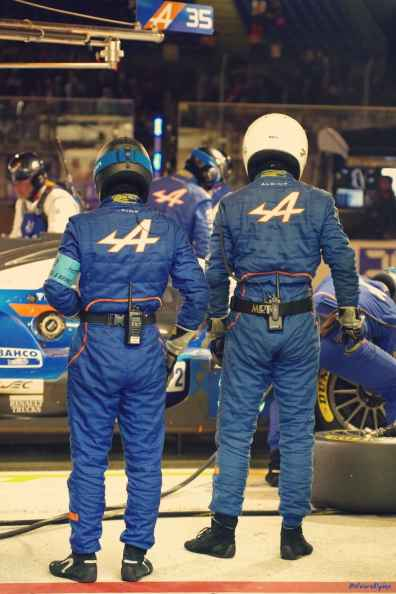 Alpine Planet WEC 24 Heures du Mans 2017 Signatech Alpine Ragues Panciatici Rao Negrao Dumas Menezes coulisses - 50-imp