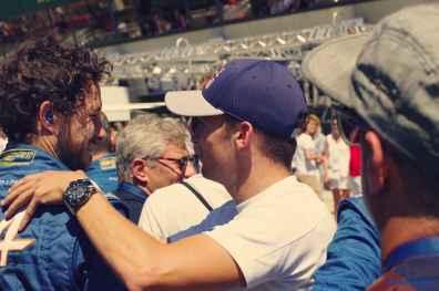 Alpine Planet WEC 24 Heures du Mans 2017 Signatech Alpine Ragues Panciatici Rao Negrao Dumas Menezes coulisses - 72-imp