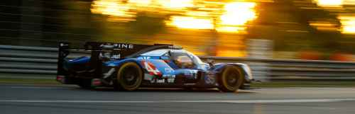 24 Heures du Mans: la Team Alpine victorieuse malgré sa 4ème place