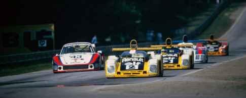 banniere 24 Heures du Mans 1978 pironi jabouille depailler jaussaud bell ragnotti frequelin a443 a442b a442a a442 victoire - 36