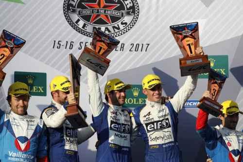 Une première victoire pour Signatech Alpine aux 6 Heures de COTA