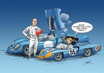 Chris Boyer portfolio Alpine A106 A110 A220 A310 GTA BD Dessin (8)