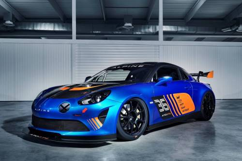 Alpine dévoile son A110 GT4 au Salon de Genève avec Signatech !