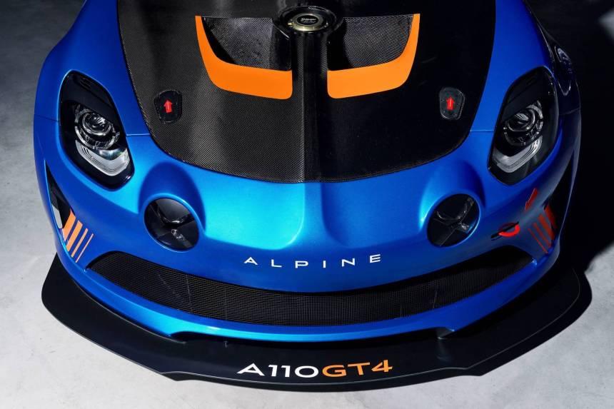 Alpine A110 GT4, son prix et sa fiche technique dévoilés !