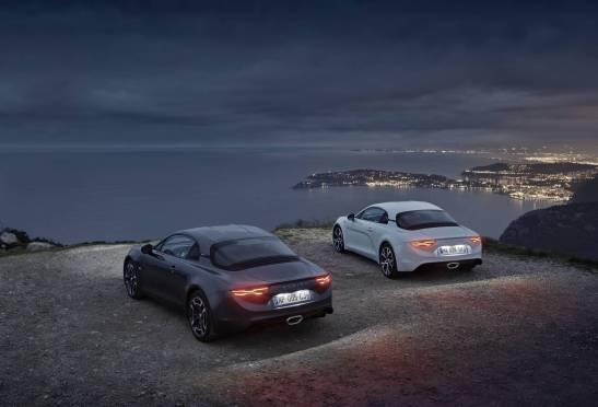 2018 - ALPINE A110 Pure and ALPINE A110 Légende