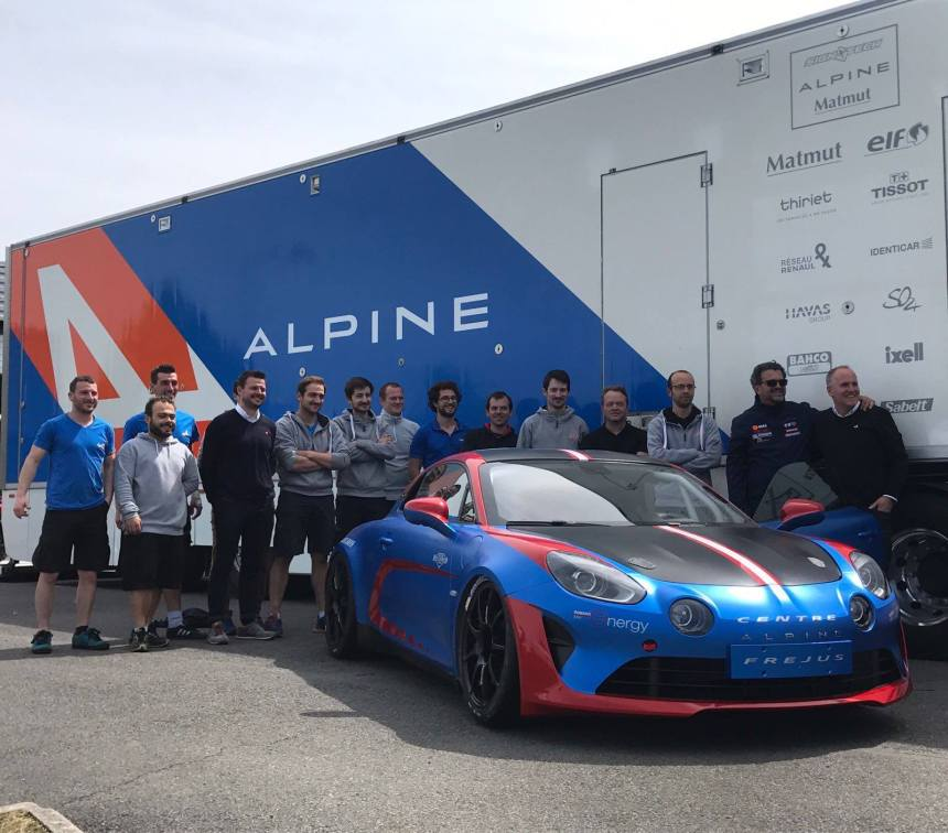 Le Team GHOSTRIDER Racing engage l'Alpine A110 Cup avec CMR !