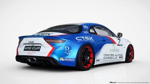 Vincent Beltoise nous présente son Alpine A110 CUP via CMR