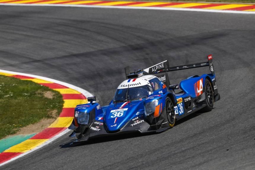 Signatech Alpine commence sa super saison par un Podium à Spa-Francorchamps