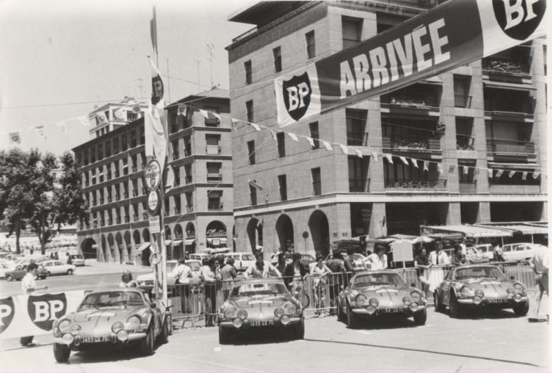 29ème Coupe des Alpes: les 50 ans de la première victoire d'Alpine