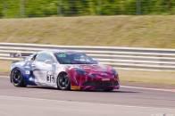 Alpine Planet FFSA GT GT4 Dijon Prenois A110 - 10