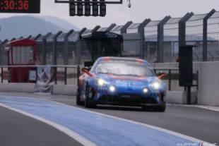 Ce weekend l'Alpine Elf Europa Cup pose ses roues sur le circuit de Dijon Prenois