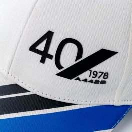 casquette blanche adulte 4 Alpine Collection 1978 boutique anniversaire 40 ans 24 heures du mans