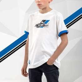 tee shirt enfant blanc 3 Alpine Collection 1978 boutique anniversaire 40 ans 24 heures du mans
