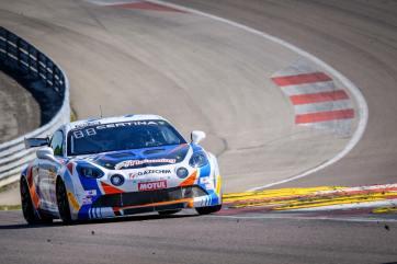 FFSA GT4 Alpine A110 Pierre Sancinena Magny Cours CMR victoire (1)