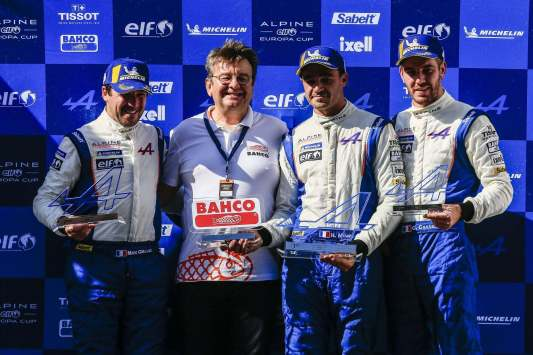 Alpine Elf Europa Cup A110 Barcelona-Catalunya Pierre Sancinena 2018 final (10)