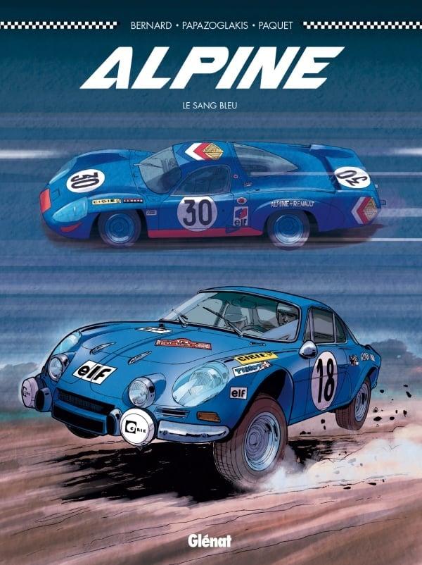Alpine sang Bleu