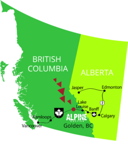 Alpine Rafting Golden BC