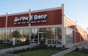 Alpine Shop's newest location at 1855 W. US Hwy 50 in O'Fallon, IL.