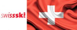 SWISS SKI LOGO FLAG