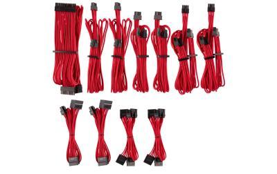 Câble d'alimentation Corsair Premium Pro-Kit Typ 4 Gen 4 rouge