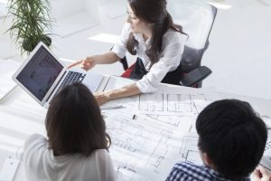 不動産仲介営業社員対象の営業力強化研修です。DiSCを用いた研修です。