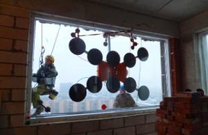Установка стеклопакетов Промышленные альпинисты Москва и Московская область (ООО Альпинисты-М)