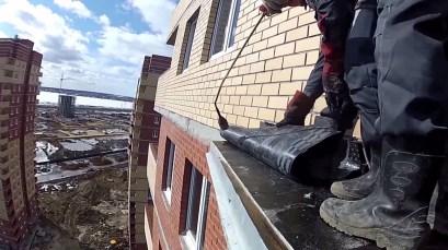 Гидроизоляция балкона Промышленные альпинисты Москва и Московская область (ООО Альпинисты-М)